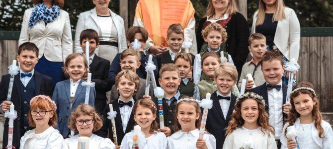 Wie ein Fenster zum Himmel – Erstkommunion 2019