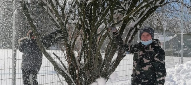 Es schneit, es schneit, …